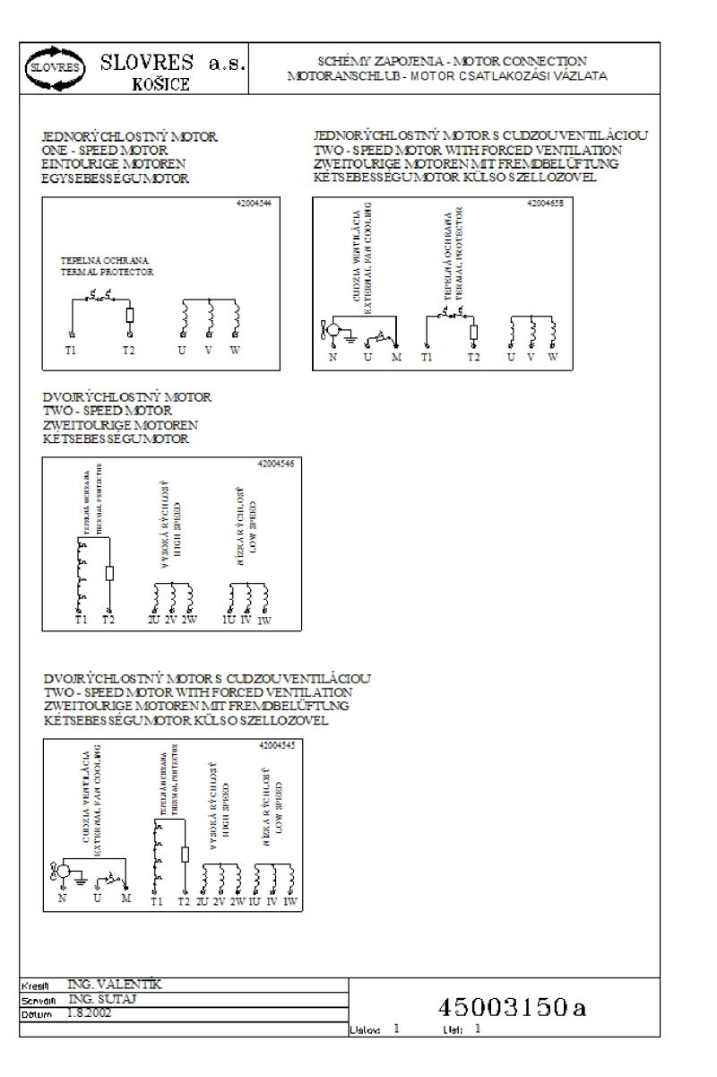 Схема подключения электродвигателя кд 50-у4